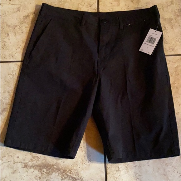 Hurley Black Shorts Size 33 NEW